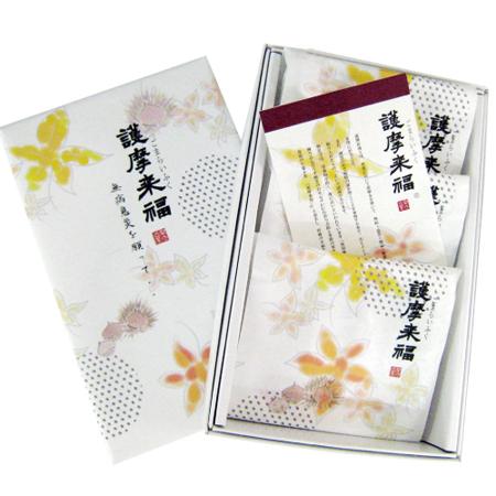 敬老ギフト好適品 生菓子 護摩来福(今期の販売は終了いたしました)