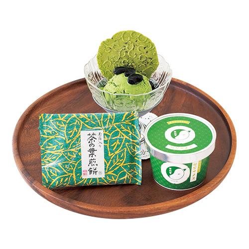 【送料込】抹茶アイス+柚子アイス 5点セット 〜京のおうちカフェ