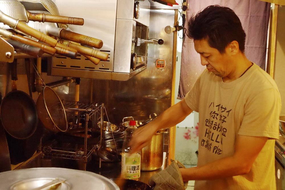 食べる蕎麦味噌