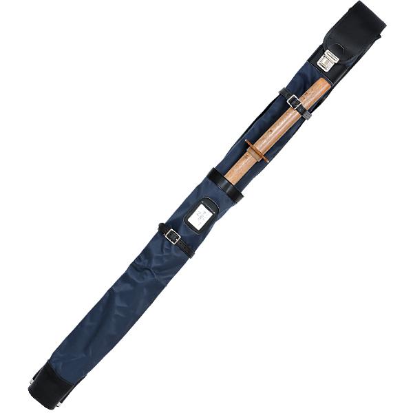 FN正式木刀入付ワンタッチ二本入竹刀袋<BR>【竹刀袋・剣道・剣道竹刀袋】