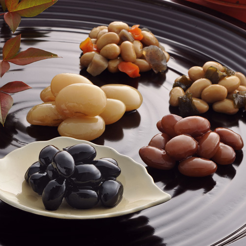 【煮豆】適量サイズ 北尾のお豆さん 9袋入(さ-31)