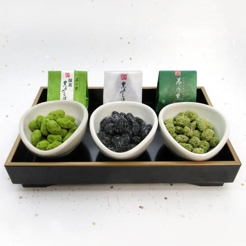 黒豆のお菓子3種類 20個入