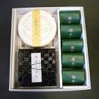 詰合せ(茶の黒×5個・ぽりぽり×1個・黒豆グラッセ×1個)