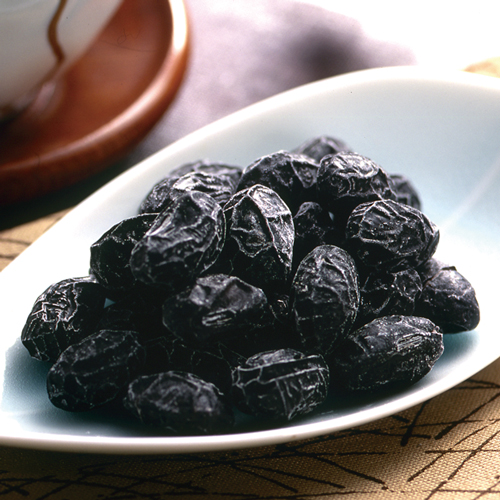 黒豆しぼり 木箱・棗セット(300g入)