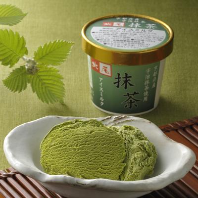 北尾のアイスクリーム 12個入 (黒豆6個・あづき2個・抹茶2個・抹茶あづき2個)