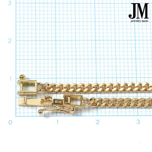 18金 喜平ネックレス K18 2面カット 約16g 70cm 造幣局検定マーク 刻印入り メンズ レディース 喜平 チェーン