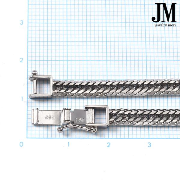 プラチナ850 喜平ネックレス Pt850 12面カットトリプル 30g 50cm 造幣局検定マーク 刻印入り メンズ レディース 喜平 チェーン