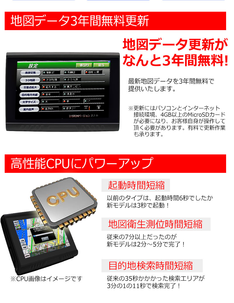 バイク用ナビ 5.0型 タッチパネル 2021年地図データ 最新年度 るるぶ 3年間 地図 更新無料 防水 ポータブル Bluetooth MicroSD 日本語マニュアル バイクナビ