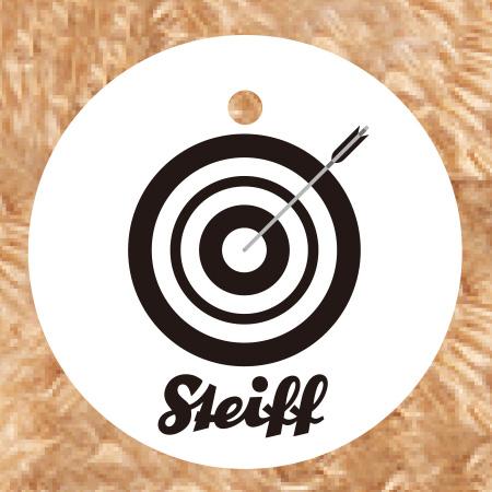 全日本弓道連盟公認  Steiff社製キーリング