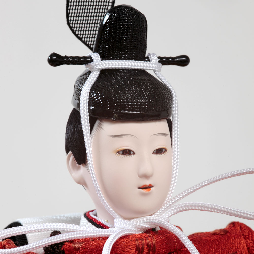 衣裳着収納親王飾り 松風 71EC-77