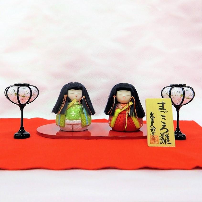 手作りキット 『まごころ雛飾り』道具付