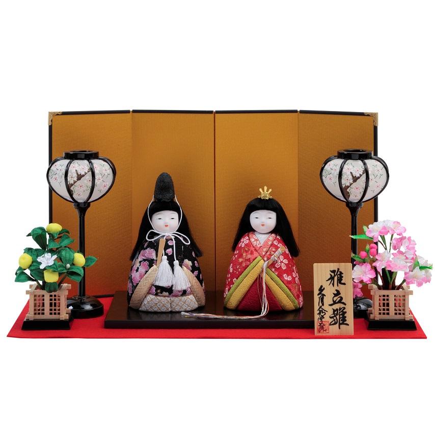 手作りキット 雛人形 『雅立雛飾り』