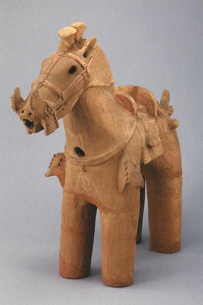 ポストカード 馬形埴輪