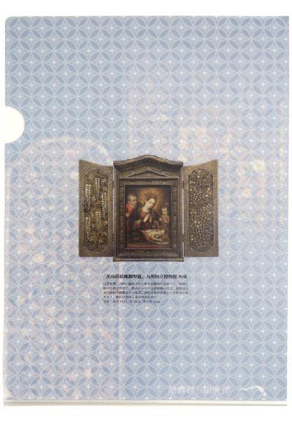 オリジナルA4クリアファイル 花鳥蒔絵螺鈿聖龕
