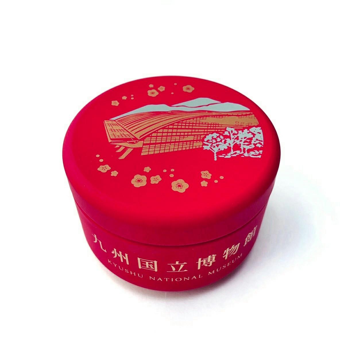 オリジナル金平糖缶 外観・赤