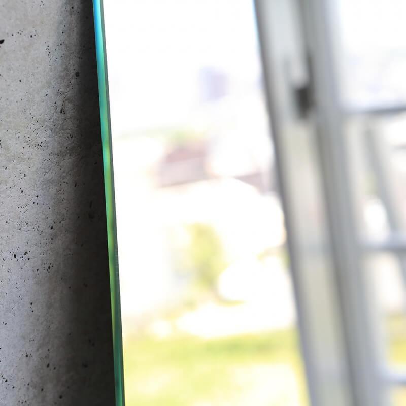 姿見鏡ウルトラクリア【ショコラカット5mm】高1200mm 幅300mm
