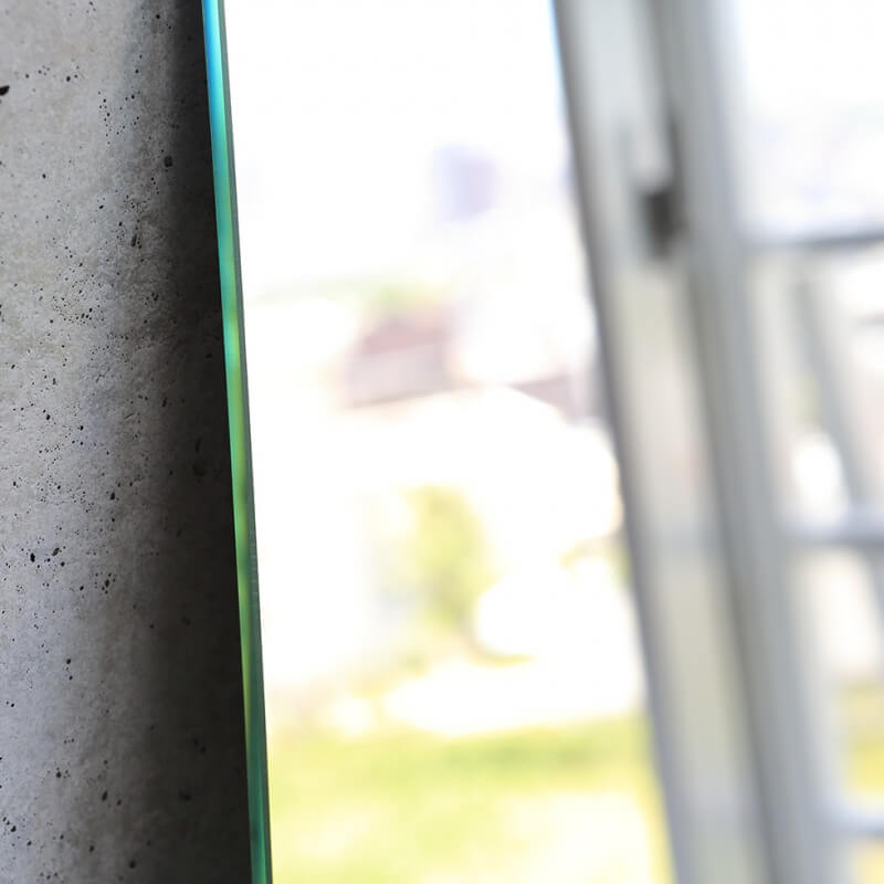 姿見鏡ウルトラクリア【ショコラカット5mm】高1200mm 幅350mm
