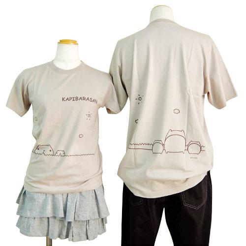 カピバラさんTシャツ カピバラさん4