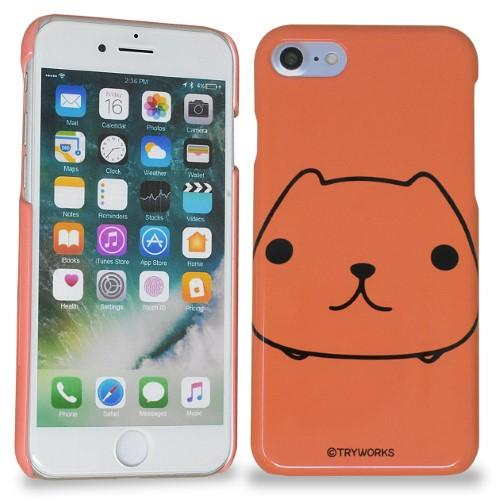カピバラさん iPhoneハードケース FACE(BR)