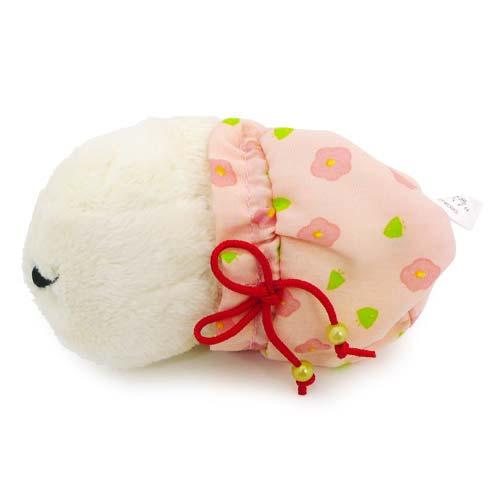 カピバラさん たぬきさんとお菓子の草原 マスコット(ホワイトさん)