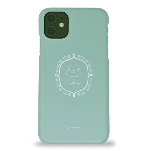 カピバラさん iPhoneハードケース frame WL(マット/グリーン)