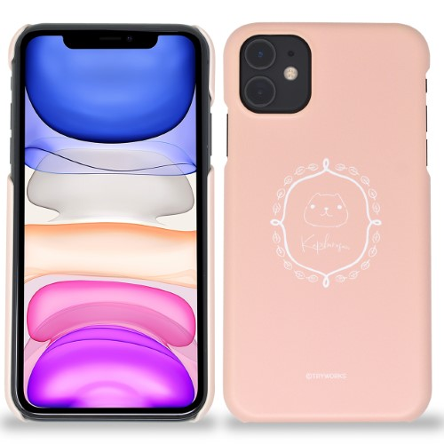 カピバラさん iPhoneハードケース frame WL(マット/アプリコット)