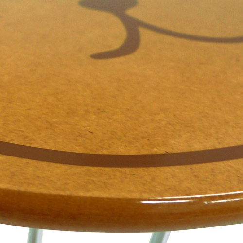 カピバラさん ダイカットミニテーブル(カピバラさん&仔カピ)