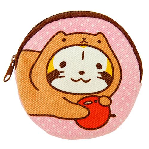 カピバラさん×ラスカル コインケース(ピンク)