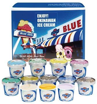 沖縄「ブルーシール」アイス詰め合わせギフト12