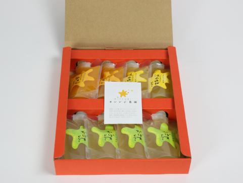 大分「オレンジ農園」飲むゼリー詰合せ 8本セット