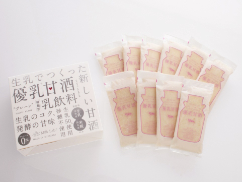 宮崎「Milk Lab.」フローズン優乳甘酒