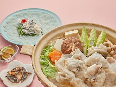 【送料無料】大分・豊後 とらふぐ料理(2人前)
