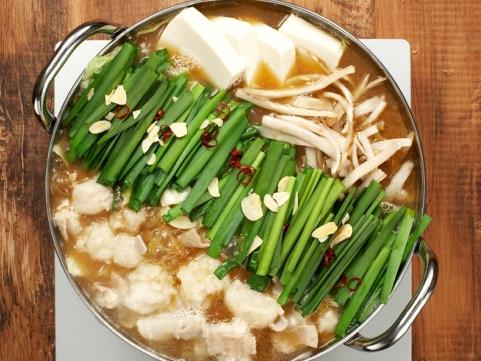 福岡・宗像「海千」博多もつ鍋(醤油味)