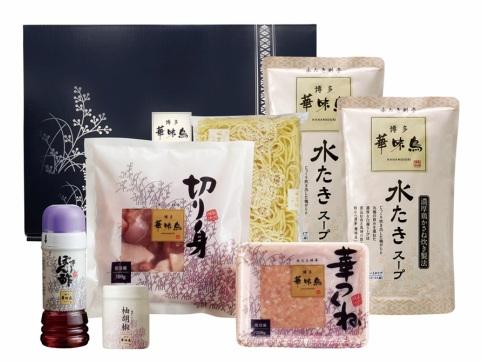 福岡「博多華味鳥」水たきセット