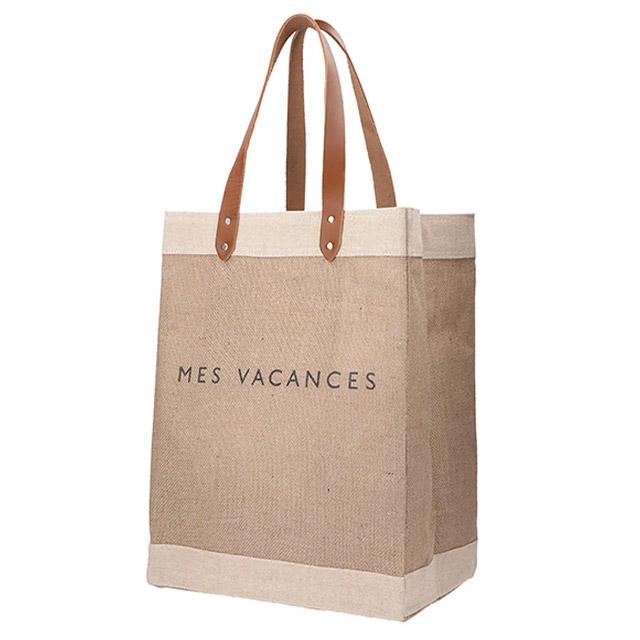 【APOLIS×MES VACANCES】トートマーケットバッグ
