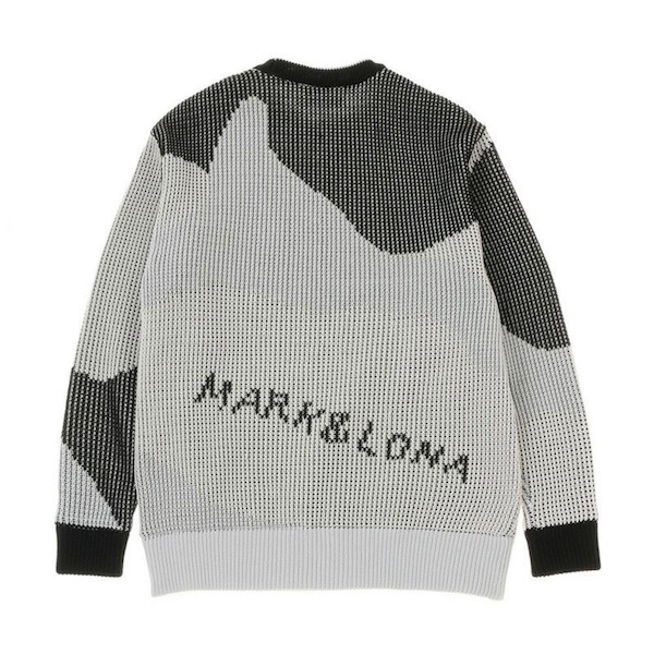Avalon PullOver Knit Outer / WHITE / MEN / MARK&LONA / マークアンドロナ