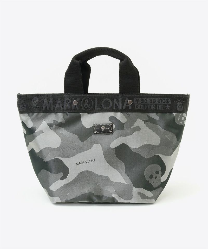 Gauge Camo Tiny Tote / MEN & WOMEN / BLACK / MARK&LONA / マークアンドロナ