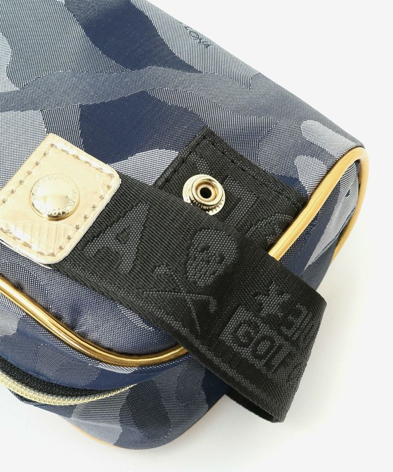 Gauge Camo Dopp Kit / WHITE / MEN & WOMEN / MARK&LONA / マークアンドロナ