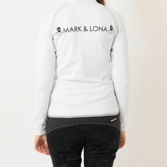 Alpha Quilted Fleece Top / WHITE / WOMEN / MARK&LONA /マークアンドロナ