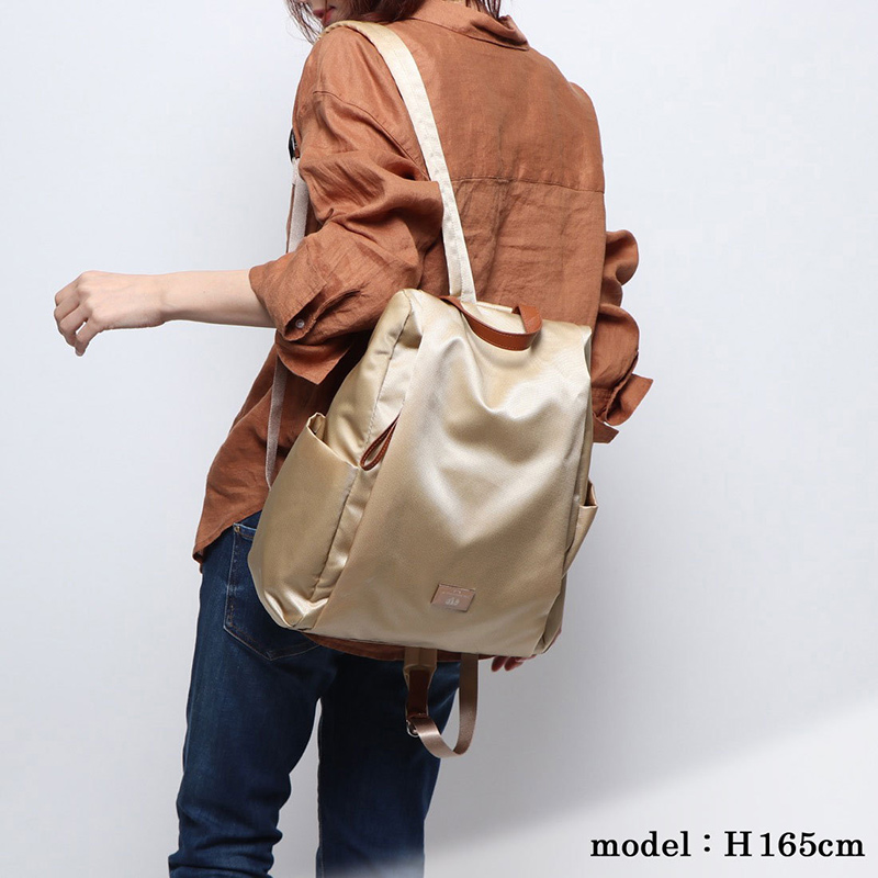 【OUTLET】エスポワールナイロンリュックサック