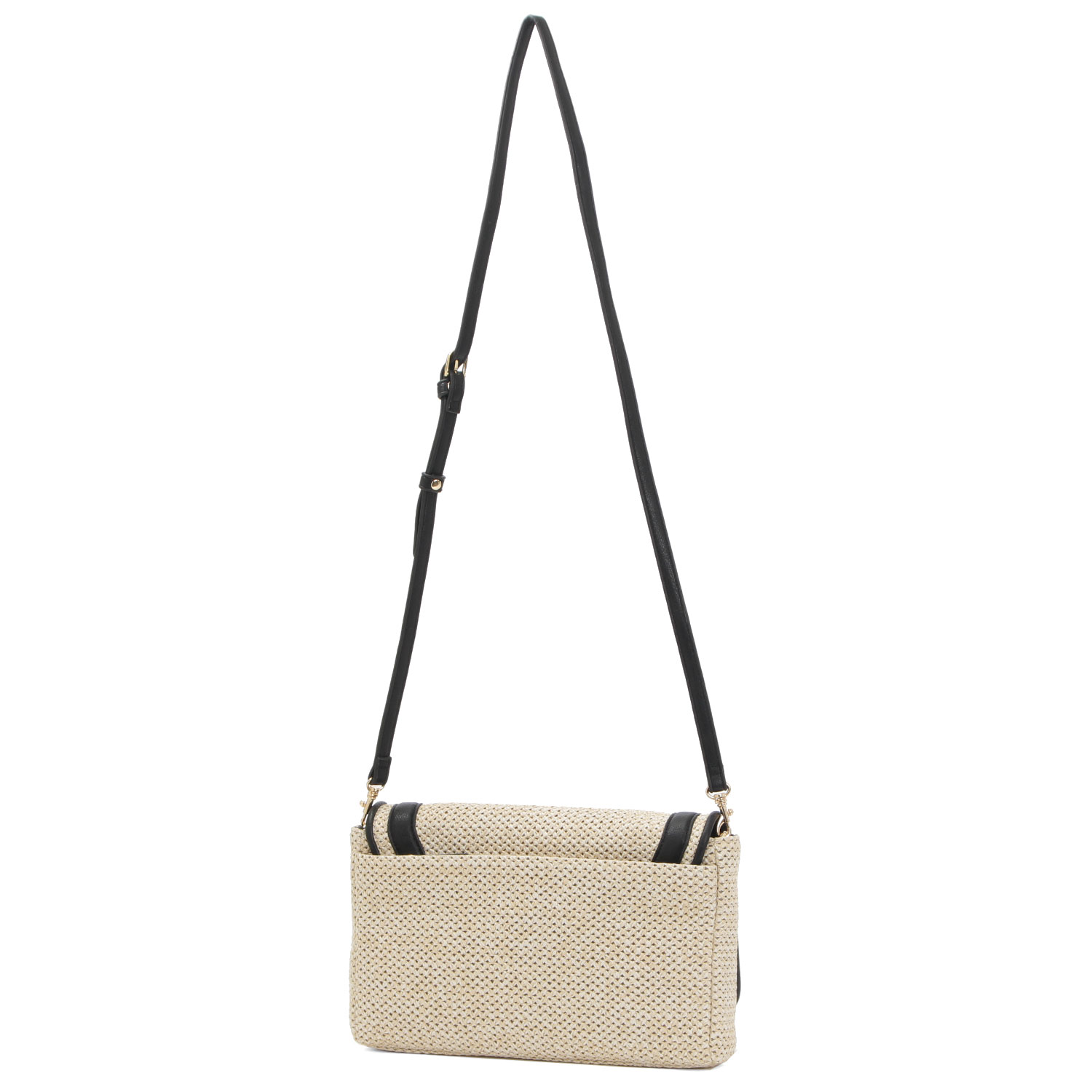 【OUTLET】 Rivageポシェット(IVORY×BLACK)