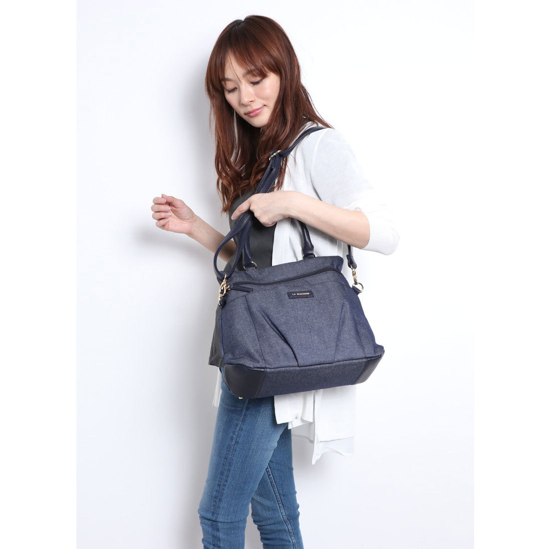 【OUTLET】 デニム3WAYリュックサック