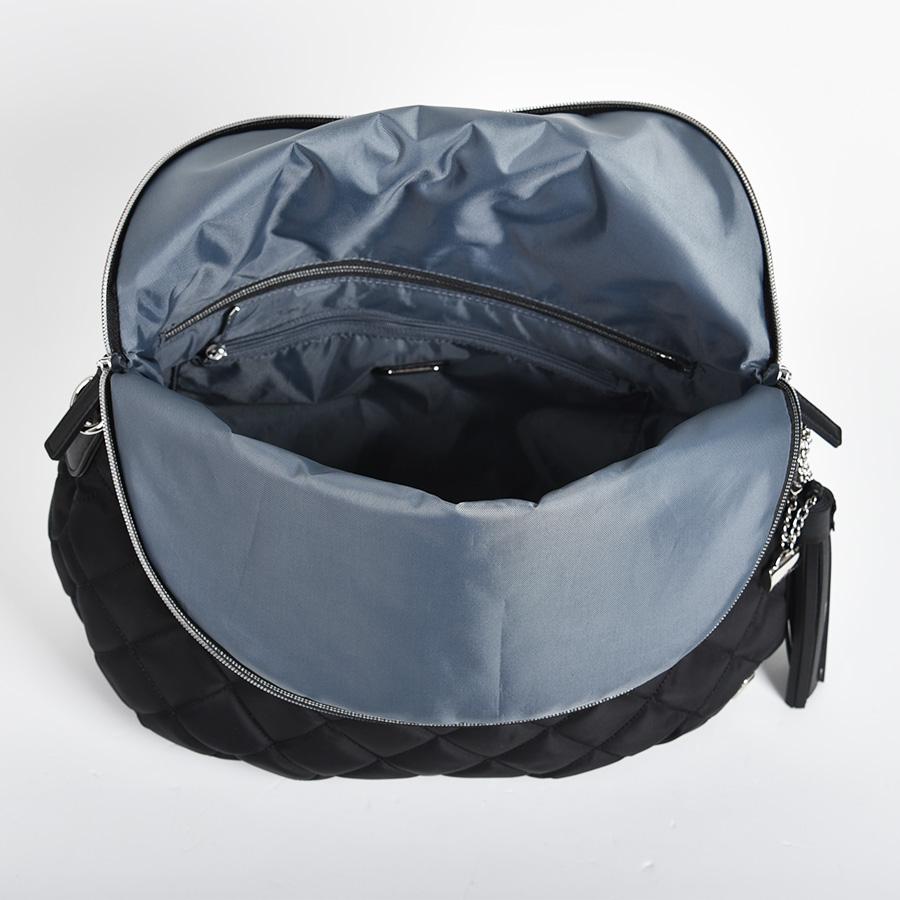 キルティング×リサイクルレザー 3WAYバッグ[01-05]