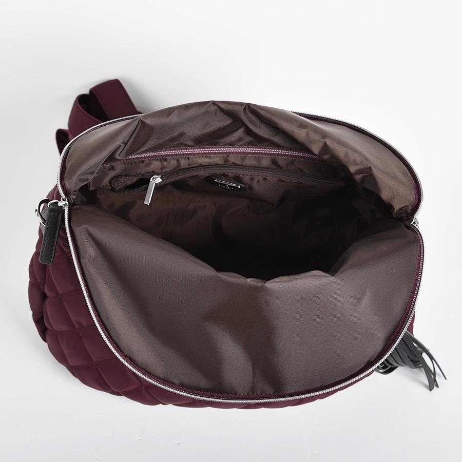 【SALE】キルティング×リサイクルレザー 3WAYバッグ