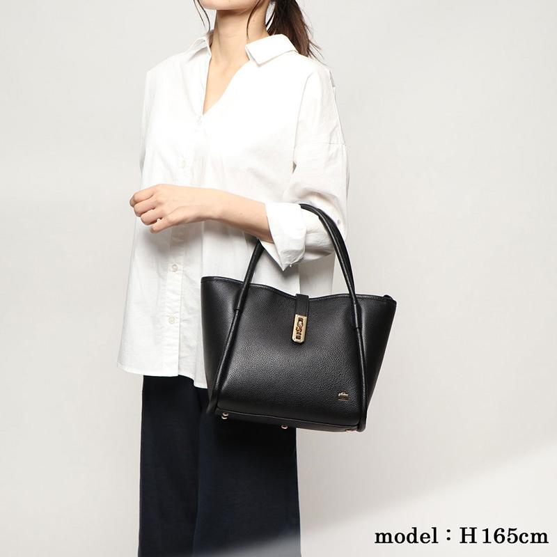 【SALE】ひねり金具レザートート Sサイズ