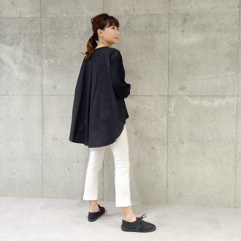 2021`Autumn/WinterBlueBee配色Tシャツ 【1129507】