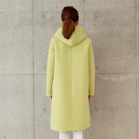 2020秋冬 【PONCHI】フード付きロングコーディガン  【4221502】