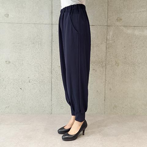 2021`Autumn/Winter裾タックジョガーパンツ  【6129501】
