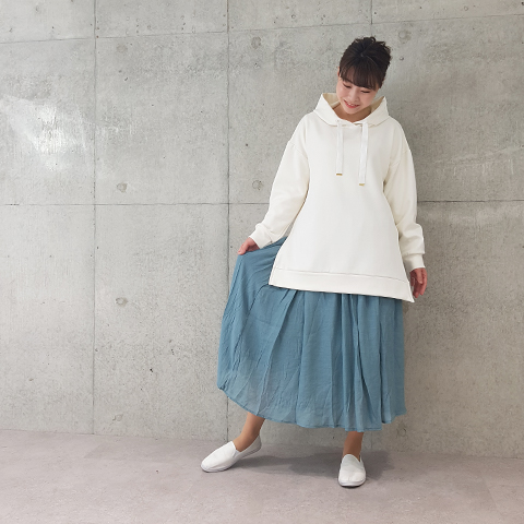 2021`SpringRTスラブマキシスカート 【34700】