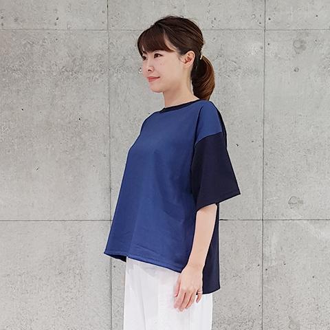 2021`Spring/Summer裾ストリングプルオーバ【1328501】